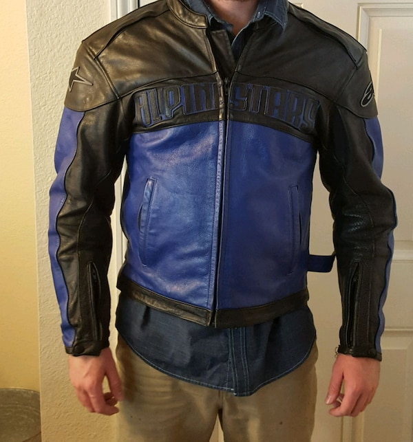 Alpinestars Leather Jacket >> Used Alpinestars Leather Black Label Jacket For Sale In Morgan Hill