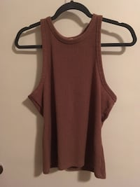women's brown tank top Calgary, T2M 0X5