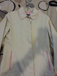 COACH trench coat  Pink leather trim size 2  excellent condition New Westminster, V3L 3T5