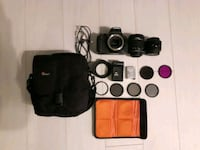 Canon 600d with 2 lens + accesories
