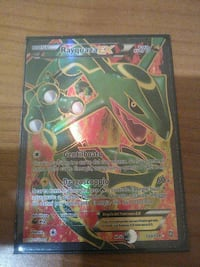 Rayquaza Pokemon trading card