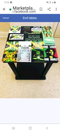 Customized End table  Baltimore, 21201