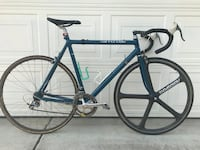 Blue and black road bike Visalia, 93291