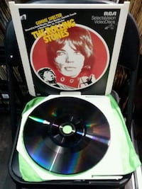 THE ROLLING STONES VIDEO DISC  Brooklyn, 11211