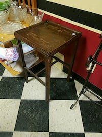 Used Side Table With Drawer Slightly Distressed In