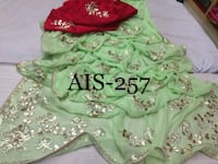 green and red floral dress Hyderabad, 500028