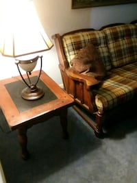two brown wooden end tables 810 mi