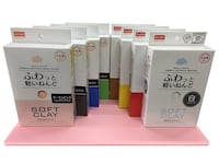 Daiso soft clay! Air dry! White, black, pink, blue, green, yellow! San Diego, 92126