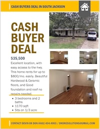 Financing available!!!