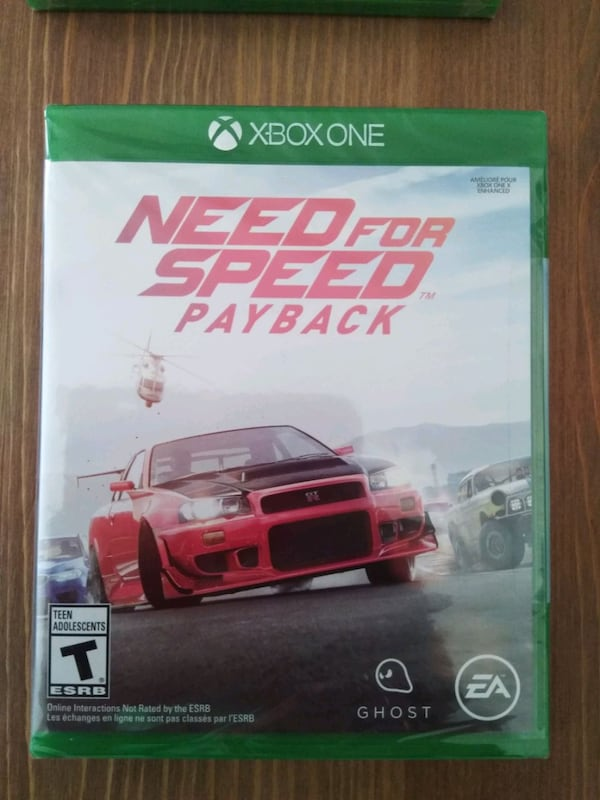 Sold Need For Speed Payback Xbox One In Davenport Letgo