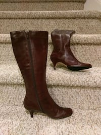 Women's Size 6M  Leather Boots (Retail $159) Woodbridge, 22193