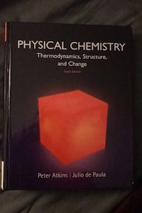 Physical chemistry Thermodynamics, structure and change Toronto
