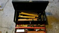 Antique carpenters toolbox with a variety of tools Frederick, 21702