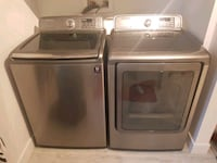 two gray front-load clothes washer and dryer set Beauharnois, J6N 2V5