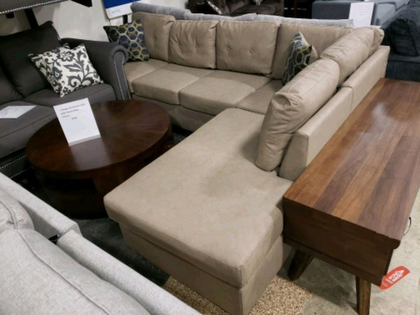 Used Brand New L Shape Sectional Sofa Tax Included Free Delivery