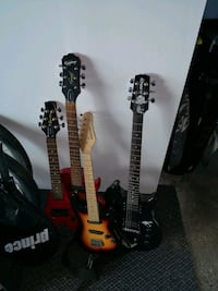 Old electronic guitars. All working  Kitchener, N2B 2G2