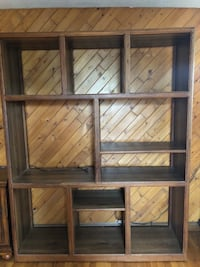 Solid Wood entertainment center Garden City, 11530