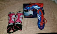 Girls Soccer Shoes & Shin/Ankle Pads/Guards Peterborough, K9H 5P1
