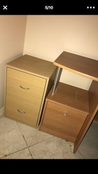 Light wood filing cabinet Pembroke Pines, 33026