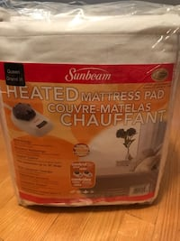 Queen size matters pad warmer controls two side price is not negotiable