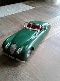 green convertible coupe vintage die-cast model North Versailles, 15137