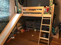 white and brown wooden bunk bed Falls Church, 22043