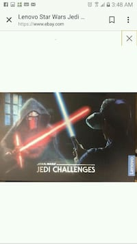 STARWARS JEDI CHALLENGES VR GAME used Aliso Viejo, 92656