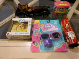 Lot of 5 Vintage Hard to Find Toys NEW OLD STOCK -READ