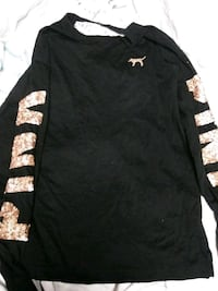 Black and gold glitter pink long sleeve Saint Charles