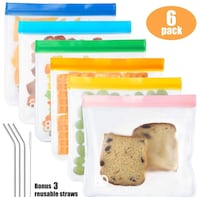 NEW reusable sandwich bags Chicago, 60654