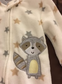Fleece sleeper - size 3-6 months  Falls Church