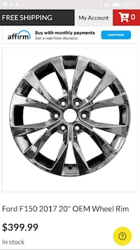 Ford factory rims and tires