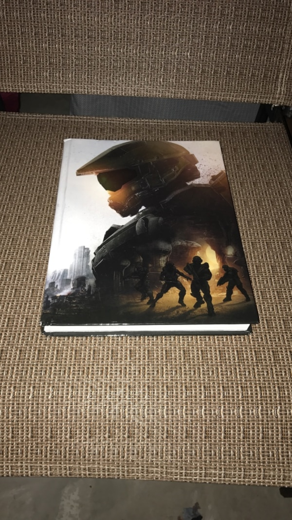 Halo 5 guardians guide book