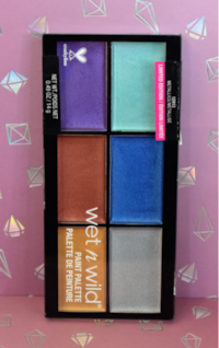 Wet N Wild Paint Pallet Limited Edition (Metalics) Alexandria