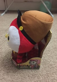 Disney junior sheriff plush 8 inches(new & sealed)