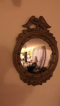 brown wooden wall mirror Portsmouth, 23703