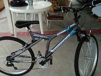 black and gray Shockwave hard tail mountain bicycle San Diego, 92126