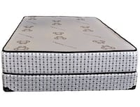 Brand new queen deluxe coil free mattress Mississauga, L5N 6B1