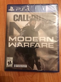 Sealed Modern Warfare PS4 Game Surrey, V3W 5J6