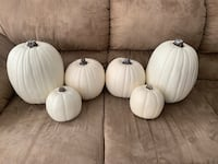 White Cream Craft Pumpkins Mississauga, L5N 6E2