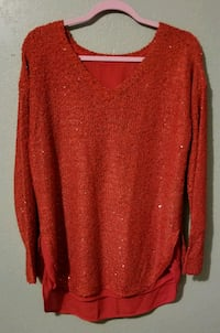 Red Pullover sweater Palmview