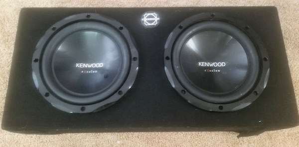 2 Kenwood Excelon 10