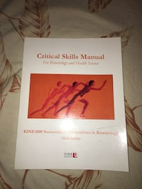 KINE 1000: Critical Skills Manual for Kinesiology and Health Science Vaughan, L4L 0A9