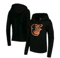 Baltimore Orioles 5th & Ocean by New Era Black Cor Milford Mill, 21244