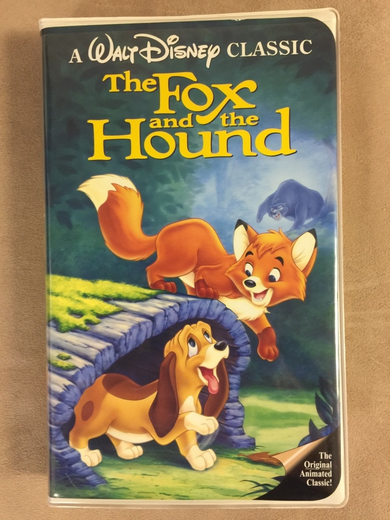 Photo Walt disney classic the fox and the hound vhs tape