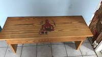 Cute. Wooden bench  36 inches  Freeland, 48623