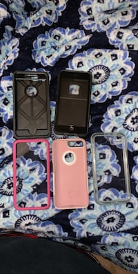 four assorted color iPhone cases Fredericksburg, 22407