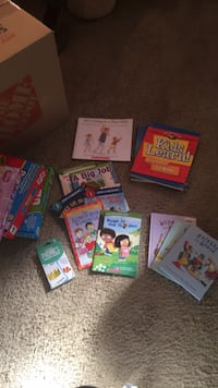 Assorted color book lot in box Ranson, 25430
