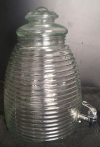 Glass Behive Decanter with Spigot West Kelowna, V1Z 3Z6