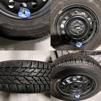 Winter tires for sale Mississauga, L4W 1S2